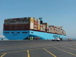 APM Terminals Tangier celebrates 10 years in Morocco with the Munich Maersk