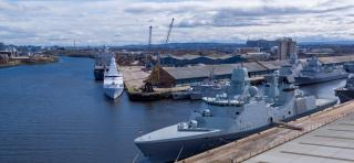 Clydeport hosts ships for major military exercise