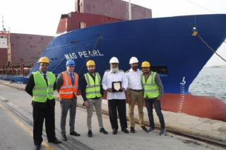 Sharjah Container Terminal welcomes MAG Pearl on maiden call