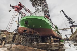 Damen completes maintenance work on Innovation at Damen Verolme Rotterdam