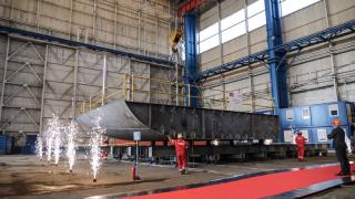 Keel laid for HANSEATIC Nature at Vard Tulcea - marking the start of the next construction stage