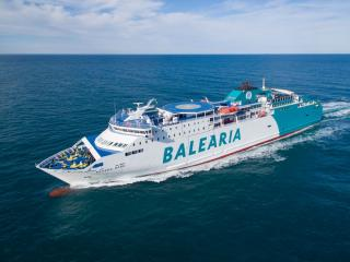 Caterpillar to convert three Balearia ferries from diesel to LNG Dual Fuel