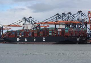 UASC announces record breaking load on board M.V. Al Muraykh (VIDEO)