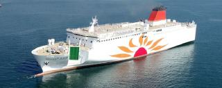 MOL Launches Newly Built Large-Scale Ferry Sunflower Kirishima