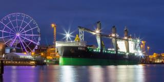 The world's most eco-friendly bulk carriers Viikki & Haaga now operating on the Baltic Sea
