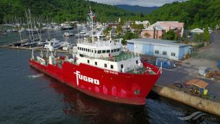 Research vessel Kobi Ruegg joins Fugro's survey vessel fleet