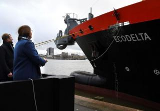 Hopper Dredger Ecodelta Christened in Rotterdam