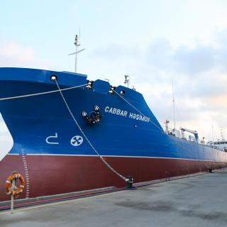 Tanker Jabbar Hashimov placed into commission after overhaul at Zigh Shipyard and Repair Plant