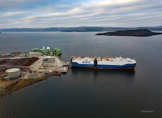 ARC Loads Military Cargo in Norway from Operation Trident Juncture