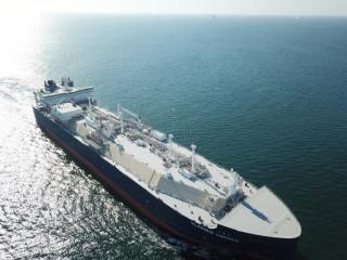 Vladimir Voronin, Delivery of the Fourth ARC 7 Ice Breaking LNG Newbuilds
