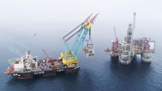 Successful heavy lift for Dvalin in the Norwegian Sea
