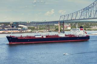 Crowley Christens MT West Virginia Fourth LNG-Ready, Product Tanker Joins the Crowley Fleet