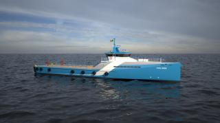 Naviera Integral signs contract with Damen for its 15th Fast Crew Supplier FCS 5009