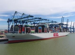 World's biggest container ship made her maiden call at Westports