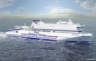 Brittany Ferries secures Société Générale and European Investment Bank financing for HONFLEUR
