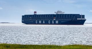 SC Ports Celebrates Big Ship Call, First Harbor Deepening Construction Contract