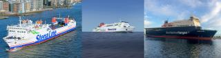 Stena Line re-deploys three ships to strengthen the route network