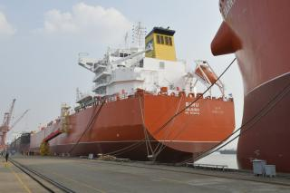 MV Baru sets a new standard in environmentally friendly deep sea shipping