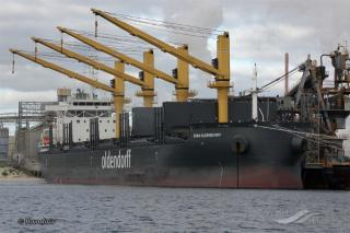Australia's biggest blades have arrived at the port of Newcastle