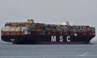 MSC Zoe Begins Clean-up Ops in the North Sea