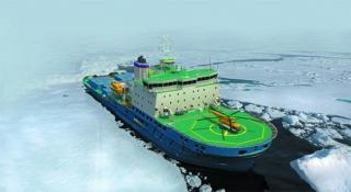 First icebreaker for Russia launched at Arctech Helsinki Shipyard
