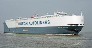 Höegh Autoliners and UGL conduct successful loading operation of 60 railcars on board Höegh Beijing