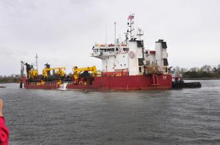 US Army Corps of Engineers completes deepening of Savannah harbor's entrance channel