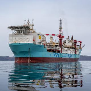Aoka Mizu FPSO Hooks Up to Lancaster Field