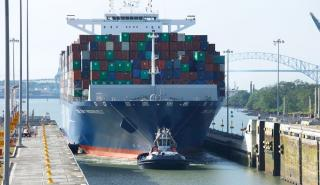 Panama Canal welcomes largest capacity container vessel to-date through expanded locks