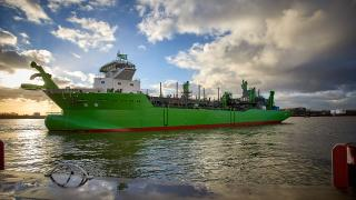 Royal IHC Launches DEME's LNG-Powered TSHD Scheldt River