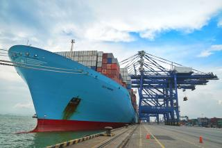 Departures between Nansha and Rotterdam increase twofold
