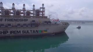 Video: Karadeniz Powership İrem Sultan Arrival to Nacala, Mozambique