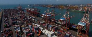 Sri Lanka signs port deal with India, Japan