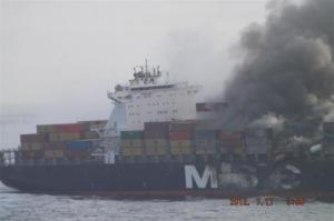 MSC Flaminia: Photo Shows the Damage After the Blast