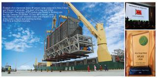 AAL Wins Best Project Cargo Shipping Award