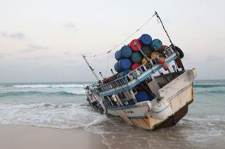 34 missing as trawler sinks off Puntland