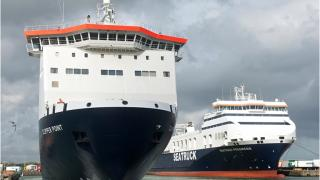 Irish Sea freight ferry specialist SEATRUCK celebrates 10 years in Dublin