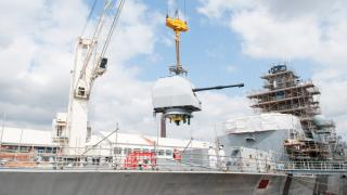 UK Navy's frigate HMS Westminster completes extensive refit programme in Portsmouth