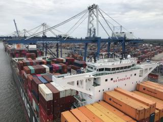 South Carolina Ports Authority Reports 10 Percent Volume Growth