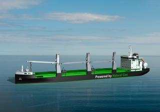 Construction of ESL Shipping's LNG-Fuelled Bulk Carriers Switched to Jinling Shipyard