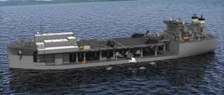 General Dynamics NASSCO Begins Construction on Second Expeditionary Base Mobile Ship