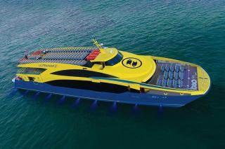 Incat Crowther Delivers High-End 48m Catamaran Ferry to the Mexican operator Ultramar