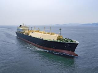 DSME delivers LNG carrier with full re-liquefaction system