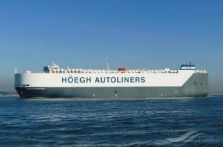 Höegh-Wallem managed vessel Höegh Singapore in Mid North Atlantic Rescue