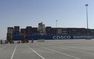 COSCO Shipping Ports and Abu Dhabi Ports witness ground-breaking at Khalifa Port and sign new CFS agreement