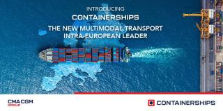 CONTAINERSHIPS: The New Multimodal Transport Intra-European Leader