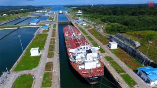Video: Teekay's first conventional Aframax tanker to Transit the Panama Canal