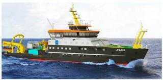 MacGregor secures specialist equipment order for state-of-the-art research vessel