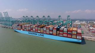 Mumbai Maersk Sets World Record for Highest-Ever Load