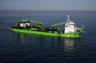 DEME's new dredger Bonny River features SCHOTTEL propulsion solutions